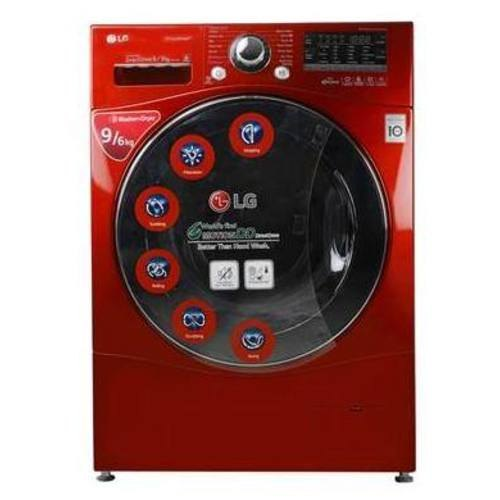 LG 9 kg Fully Automatic Front Load Washing Machine, F14A8RDS29, Apple...