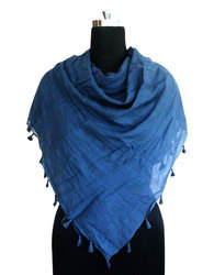Ladies Cotton Dyed Scarf
