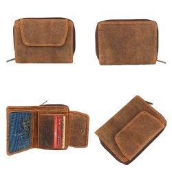 Tan OEM Leather Wallet For Women