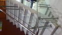 Stainless Steel Rectangle Glass Railing