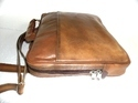 Laptop Protected Leather Sleeve Bag