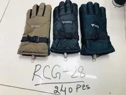 Nylon Hand Gloves, Size: Large