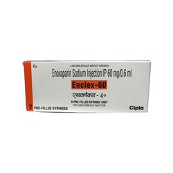 Enclex-60 Enoxaparin Injection 60 mg/0.6 ml