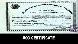 Registration For 80G Certificate Service