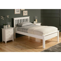 Panel Wooden Bed