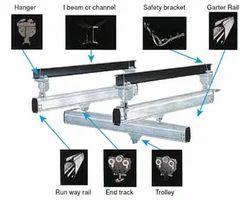 Overhead Railing Systems - X Y Rail system