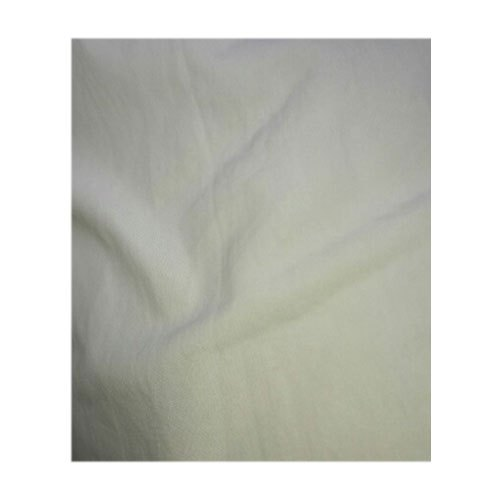 White Cotton Fabric, Packaging Type: Roll