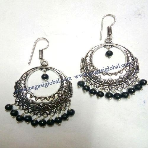indian beautiful sd earrings studded stone designer