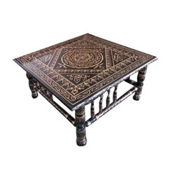 Square Designer Wooden Table
