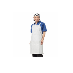 Plain PE Non-Woven Apron, Size: 25 Gsm, for Kitchen