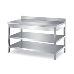 Stainless Steel Under Shelf Table