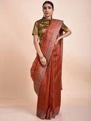Pure Tussar Ghicha Silk Sarees
