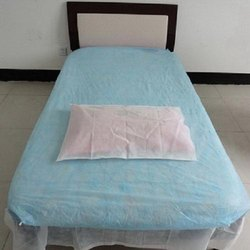 Disposable Bed Sheet and Pillow Cover Set