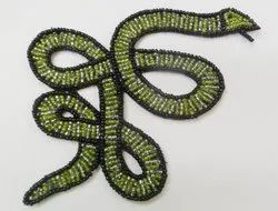 Snake Beaded Patches