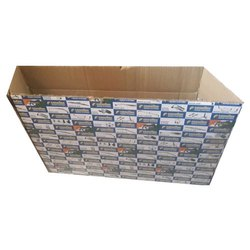 Printed Kraft LED TV Packaging Box