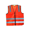 Polyester Traffic Safety Reflective Jackets, Size: Medium And Large