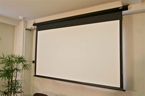 Wall Mount White Wall Mounted Projector Screen Screen