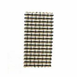 Linen Check Shirting fabric 36width, 100 Gsm, Machine Wash,Hand Wash