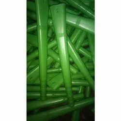 11 Inch Green Broom Handle
