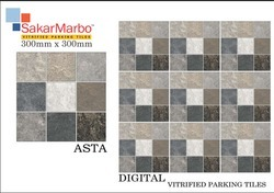 Asta Digital Vitrified Parking Tiles