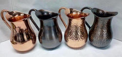Metal Copper Jugs
