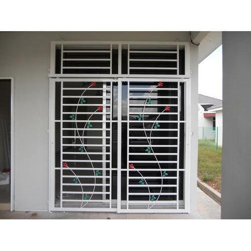 Multicolor Standard Stainless Steel Window
