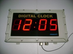 Flameproof Digital Clock
