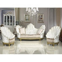 White Luxury Sofa Set