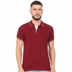 Half Sleeves Polo Neck T Shirts for Men