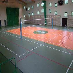 Badminton Flooring Service
