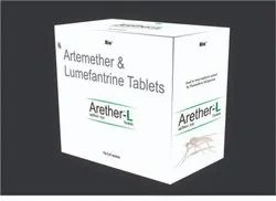 Artemether 80mg   Lumefantrine 480mg