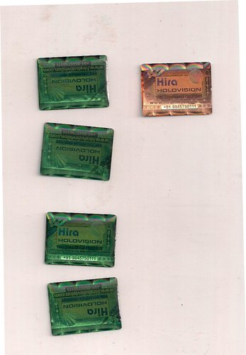 Epoxy Hologram Labels