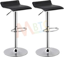 MBTC Matrix Adjustable Bar Swivel Kitchen Breakfast Counter Stools,Bar stools, Black