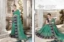 Competent Georgette Embroidered Party Wear Saree