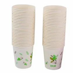 White Disposable Cup, Capacity: 250 ML