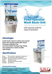 Pedal Oprated Wash Basin Unit