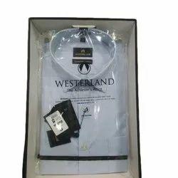 Westerland Full Sleeve Mens Plain Cotton Shirt