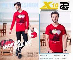 Cotton V-Neck X10 Mens V Neck T Shirts