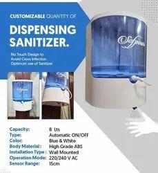 Dispensing Sanitizer