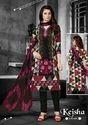 Printed Cotton Churidar Suit