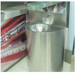 Pedestal Plain Wash Hand Sink, Shape: Round