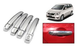 None ABS Chrome Plated Handle Cover For Toyota