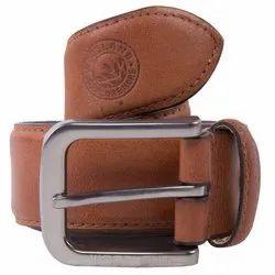 Woodland BT 1075041 Tan Men's Leather Belt