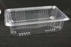 Benzon Rectangular Plastic Container