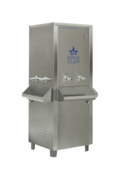 Industrial Water Dispensers with RO Inbuilt 250 LPH- Normal - Hot