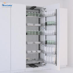 Everyday Kitchen Storage Accessories Chrome Tandem Pantry Pull Out Sb1850600