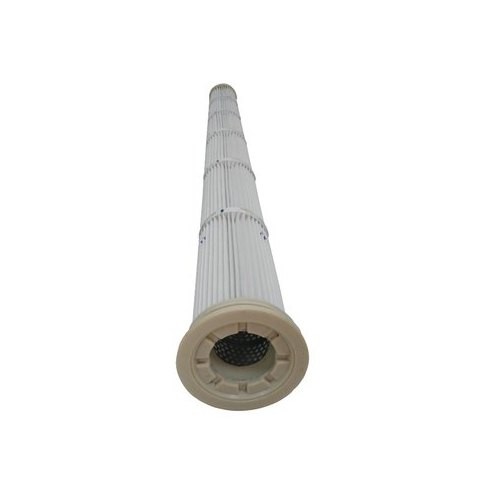 TR White Top Loaded Air Filter Cartridge, Micron Ratings: 1 Micron, Automatic Grade: Semi-Automatic