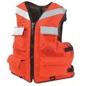 Orange Polyethylene Life Jacket