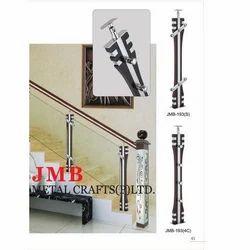 Glass Modular Railing Pillar