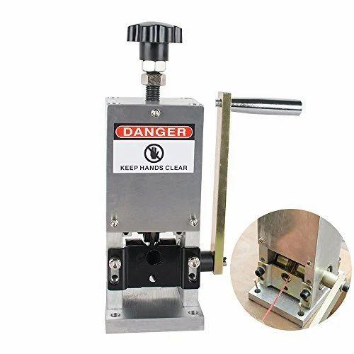 Semi-automatic Scrap Wire Manual Stripping Machine